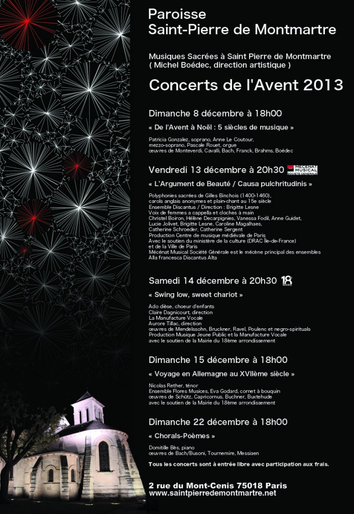 Concerts Avent